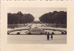 PHOTO ORIGINALE 39 / 45 WW2 WEHRMACHT FRANCE VERSAILLES VUE SUR LE BASSIN DE LATONE - Guerre, Militaire