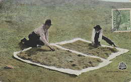 Sun Drying The Rice At Rice Lake Kawatha, Ontario - 1921       (200208) - Autres