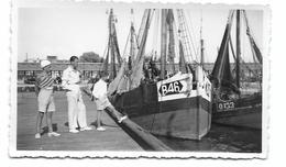 Bateau De Pêche 1932 Blankenberge ? Oostende? Photo 11x6,5 - Personnes Anonymes