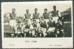 Photo Football Equipe Du Red Star Miroir Des Sports - Soccer