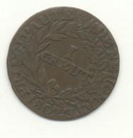 SUISSE 1 CREUT 1807 - Schweiz