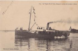 CPA Neuve - 56 - Morbihan- Le Vapeur Ile De Groix, Faisant Le Service De Lorient à Groix - Groix