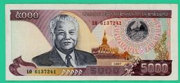 5000 Kip - Laos - N° LO6137241 - 1997  - TTB + - - Laos