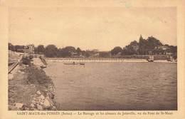 94 Saint Maur Des Fosses Le Barrage Et Les Coteaux De Joinville Vu Du Pont De St Maur - Saint Maur Des Fosses