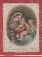BDV - 1900-1925 - Silks - Soie - The Madonna Of The Chair. - Imágenes Religiosas