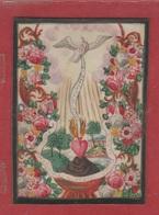 Santino - Enluminure Sur Parchemin - Gravure Sur Cuivre - 96X70 - Brrr - Images Religieuses