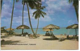 Tobago - Peaceful Pigeon Point. Card Sent To Denmark.  S - 4815 - Trinidad