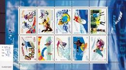 N) 3691 à 3700, 10 Valeurs, Collection Jeunesse, Les Sports De Glisse - Ongebruikt