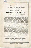 LICHTERVELDE / VEURNE - Julie DESCHRYVERE - Geboren 1844 En Overleden 1868 - (franstalig) - Imágenes Religiosas