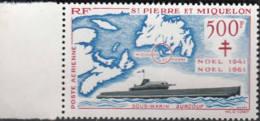 Y&T 28 Saint Pierre Et Miquelon Sous Marin Surcouf - Non Classés