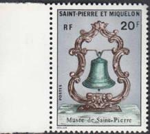 Y&T N° 417 Et 418 Musée De Saint Pierre Carte Sextant Cloche Marine - Ohne Zuordnung