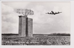 Vintage Rppc KLM K.L.M Royal Dutch Airlines Lockheed Electra L-188 Aircraft @ Schiphol Airport - 1919-1938: Fra Le Due Guerre