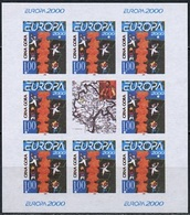 Monténégro Bloc Feuillet 2000 Y&T N°(1) - Michel N°(?) *** - EUROPA - Feuillet Petit Format Non Dentelé - Montenegro