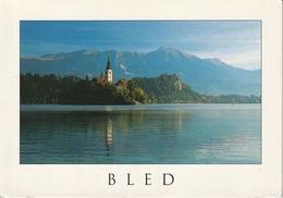 Post Card - Lago Di Bled - Slovenia - Viag. 1999 Per Bergamo - Slovenia