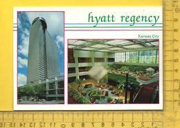 CPM  ETATS-UNIS, K.S. , KANSAS CITY : Hotel Regency, 2 Vues - Kansas City – Kansas