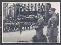 Deutschland Erwacht Sammelwerk Nr. 8: Sammelbild Nr. 81, Gruppe 33, SA Aufmarsch In Leipzig 1933 - Cigarette Cards
