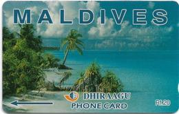 Maldives - Dhiraagu (GPT) - Beach - 2MLDA - 5.000ex, Mint No Blister - Macao