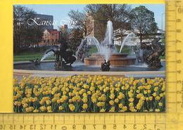 CPM  ETATS-UNIS, K.S. , KANSAS CITY : Nichols Fountain, A Landmark - Kansas City – Kansas