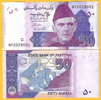 Pakistan 50 Rupees P-47 2019(2) New Signature UNC Banknote - Pakistán