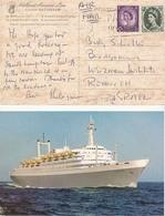 Great Britten Postcard Ship, Stamps     (A-6000) - 1952-.... (Elizabeth II)
