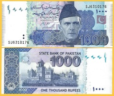 Pakistan 1000 Rupees P-50 2019(2) New Signature UNC Banknote - Pakistán