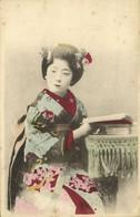 Japan, Geisha Lady In Beautiful Coloured Kimono (1903) Postcard - Other