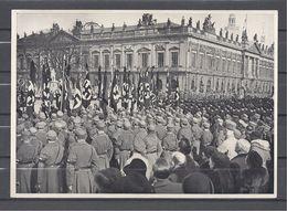 Deutschland Erwacht Sammelwerk Nr. 8: Sammelbild Nr. 116, Gruppe 33, Volkstrauertag 1933 - Cigarette Cards
