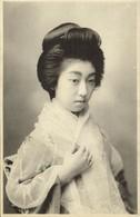 Japan, Beautiful Geisha Lady Veiled (1910s) Postcard - Other
