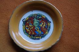 C Tobacco Ashtray Tabak Aschenbecher Tabaco Cenicero Posacenere Cinzeiro Tabak Asbak Palace San Francisco Paris Année 60 - Porcellana