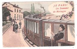 Mortagne Au Perche (61 - Orne) Je Pars !  Un Souvenir - Mortagne Au Perche