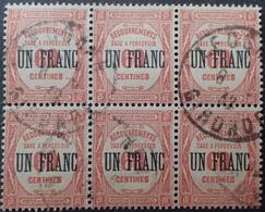R1615/1865 - 1929 - TIMBRES TAXE - BLOC De 6 - N°63 ☉ - Postage Due