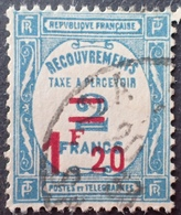 R1615/1866 - 1929/1931 - TIMBRE TAXE - N°64 ☉ CàD - Postage Due