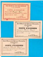 3 Cartes D'honneur Ecole La Louvière : 2 Vues De BRUGES Et 1 De BOUILLON Avec Lavandières - 1910-11-18 - Voir Les Scans - Belgio