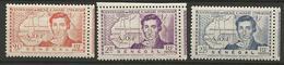 SENENEGAL  SERIE COMPLETE N° 150 à 152  NEUF*   CHARNIERE /  / MH - Sénégal (1887-1944)