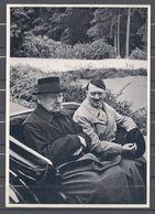 Deutschland Erwacht Sammelwerk Nr. 8: Sammelbild Nr. 151, Gruppe 33, Reichspräsident Und Kanzler In Neudeck - Cigarette Cards
