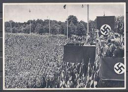 Deutschland Erwacht Sammelwerk Nr. 8: Sammelbild Nr. 153, Gruppe 33, SA-Aufmarsch In Dortmund 1933 - Cigarette Cards