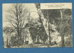 Dordogne - Environs De Sarlat - Eglise Monolithe De Caudon   ( Ref 277) - Sarlat La Caneda