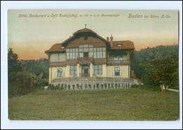 U8151/ Baden Bei Wien N.Ö.  Restaurant Rudolfshof AK 1908 - Zonder Classificatie