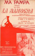 JEAN GABIN - MA PAMPA DU FILM LA BANDERA - 1935 - SUPERBE ETAT PROCHE DU NEUF - - Film Music