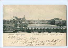 XX006971/ Berlin Treptow Kaserne 1909 AK - Altri