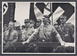 Deutschland Erwacht Sammelwerk Nr. 8: Sammelbild Nr. 155, Gruppe 33, Kundgebung In Dortmund 1933 - Cigarette Cards