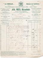 A L 'ABEILLE - APICULTURE - RUCHES - MIEL -CIRE - ELEVAGE D'ABEILLE - AUG. MEES, HERENTHALS - 1912. - Alimentaire