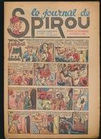 LE JOURNAL DE SPIROU N° 24  17 JUIN 1943  GOEDE STAAT  BON ETAT - PAPIER TRES DEFICILE   2 SCANS - Spirou Magazine