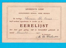 CHARLEROI Animée  : Eglise Place Kiosque Et Au Verso EERELIJST Gemeente LEDE 1920 - Voir Les Scans - Charleroi