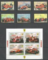 LIBERIA - MNH - Transport - Cars - Ferrari - Sport - Voitures