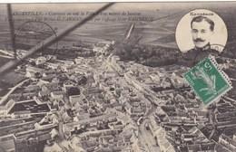 Essonne - Angerville - Comment On Voit La Ville à 100 Mètres De Hauteur - Angerville