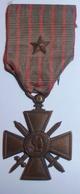 Médaille Croix De Guerre 1914-1916 Avec Une Citation / Poilu / WW1 / 14-18 - Frankrijk