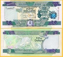 Solomon Islands 50 Dollars P-29(2) 2009 UNC Banknote - Solomon Islands
