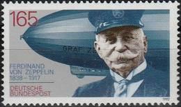 Allemagne République Fédérale  West Germany Bundesrepublik Deutschland 1992 Ferdinand Zeppelin - Zeppelins