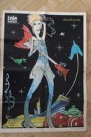 SP1-Rare Poster De David Bowie, Né Le 8 Janvier 1947 à Londres Et Mort Le 10 Janvier 2016 à New York.forma 60x43cm - Books, Magazines, Comics